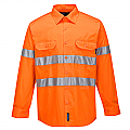 Hi-Vis Lightweight Long Sleeve Shirt with Tape