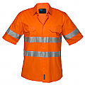 Hi-Vis Lightweight Short Sleeve Shirt with Tape