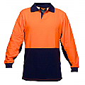 Long Sleeve Food Industry Cotton Comfort Polo