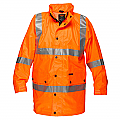 Argyle Hi-Vis Rain Jacket with Tape