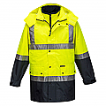 4-in-1 Jacket - Mackay Anti-Static - Yellow/Navy