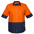 Hi-Vis Two Tone Lightweight Short Sleeve Shirt