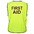 Day Vest - First Aid - Yellow