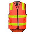 Vic Roads Style Vest - Orange