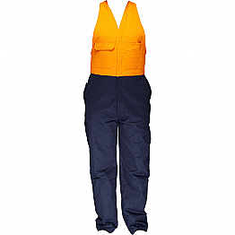 Regular Weight Action Back Overalls