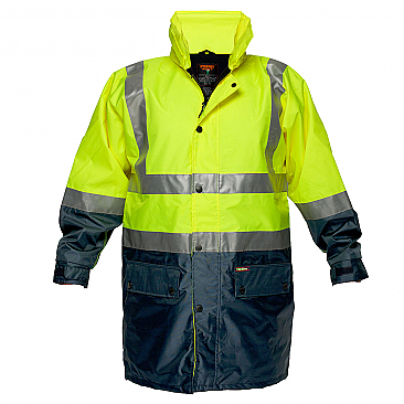 Fleece Lined Rain Jacket with Tape