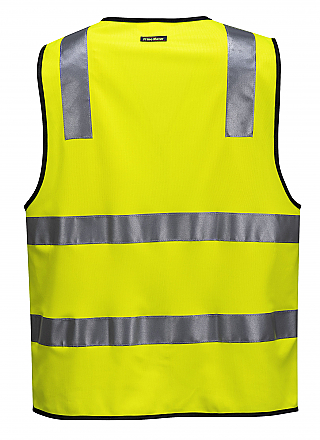 Day/Night Safety Vest with Tape