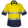 Hi-Vis Two Tone Lightweight Short Sleeve Shirt with Tape