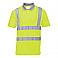 Hi-Vis Short Sleeve Polo - Yellow