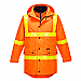 4-in-1 Day/Night Jacket with Micro Prism Tape - Orange