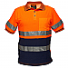 Short Sleeve Cotton Comfort Polo with Tape